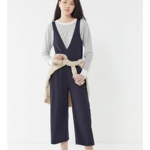 Urban Outfitters Plunge Stretch Jumpsuit